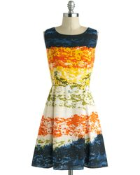 ModCloth Mirage Band Dress - Lyst