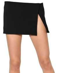 Pedro Lourenco - Tulle and Viscose Crepe Skirt - Lyst