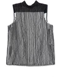 Proenza Schouler Embroidery Chain Sleeveless Top - Lyst