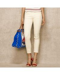 Ralph Lauren Blue Label - Cropped Skinny Jean - Lyst