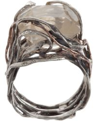 Sandra Dini - Quartz Ring - Lyst