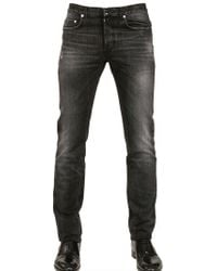 Dior Homme 17.5Cm Fly By Night Washed Denim Jeans black - Lyst
