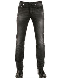Dior Homme 17.5Cm Fly By Night Washed Denim Jeans - Lyst