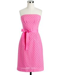 J.Crew Jessie Dress in Eyelet - Lyst