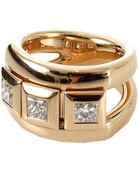 Tamara Comolli - Curriculum Vitae Princess Cut Diamond Ring - Lyst
