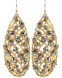 Alexis Bittar - Siyabona Pyrite Earrings - Lyst