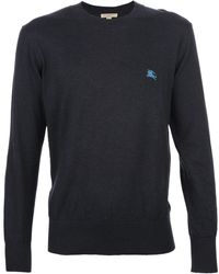 Burberry Brit Crew Neck Sweater - Lyst