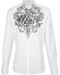 Givenchy - Print Shirt - Lyst