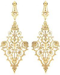 Iam By Ileana Makri Chantilly Pendant Earrings