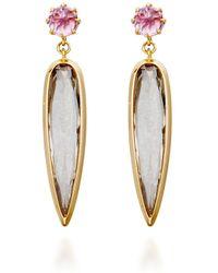 Katie Rowland - Ishtar Amulet Earrings - Lyst