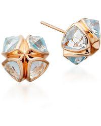 Katie Rowland - Salome Stud Earrings - Lyst