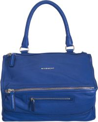 Givenchy Medium Pandora Messenger blue - Lyst