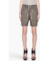 Silent - Damir Doma - Folded Shorts - Lyst