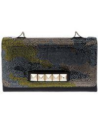 Valentino Va Va Voom Crystal Embellished Clutch - Lyst