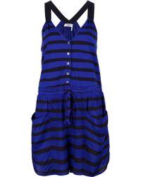 Sonia by Sonia Rykiel - Contrast Stripe Jumpsuit - Lyst