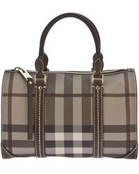 Burberry Chester Tote - Lyst