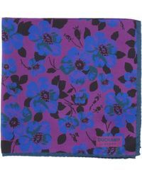 Duchamp - Oblion Floral Pocket Square - Lyst