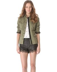 Rag & Bone Nakamura Jacket green - Lyst