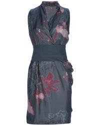 Malloni Sleeveless Dress - Lyst