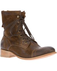 NDC - Laceup Ankle Boot - Lyst