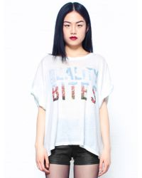 Wildfox Reality Bites T Shirt - Lyst