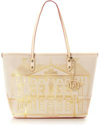 Love Moschino Portable Home Tote Bag - Lyst