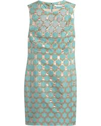 Diane Von Furstenberg Akoni Paillette and Beadembellished Jacquard Dress - Lyst