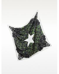 Givenchy - Stars and Panther Print Twill Silk Wrap - Lyst