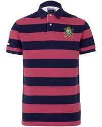 Hackett Beach Logo Polo Shirt - Lyst
