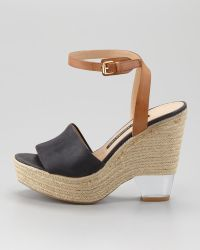 French Connection - Abby Jute Wedge Sandal - Lyst