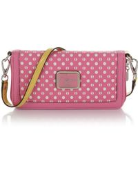 Guess Elara Zip Around Wallet with Shoulder Strap - Lyst