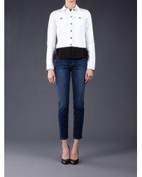 Joe's Jeans - Bonnie Cropped Denim Jacket - Lyst