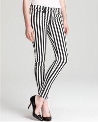 Retrosuperfuture - Hudson Jeans Nico Mid Rise Skinny Stripe - Lyst