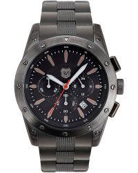 Andrew Marc - Mens Gunmetal Chronograph Watch - Lyst