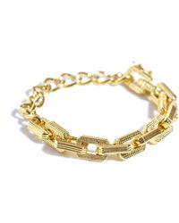 Eddie Borgo - Helix Link Bracelet - Lyst