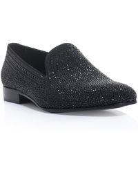 Valentino Micro Jet Crystal Slipper Shoes black - Lyst