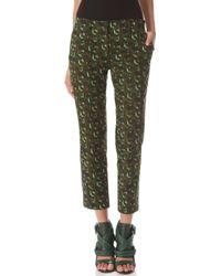 Derek Lam Cropped Trousers - Lyst