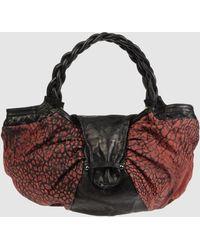 Imemoi Large Leather Bag - Lyst