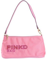 Pinko Small Fabric Bag - Lyst