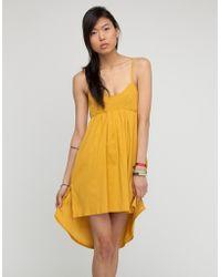 RVCA Cotton Dress - Lyst