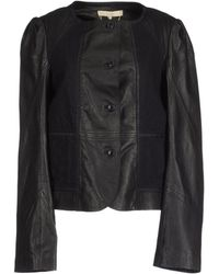 Vanessa Bruno Leather Outerwear - Lyst