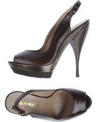 Bruno Magli Platform Sandals - Lyst