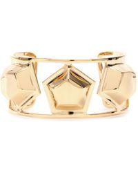 Eddie Borgo - Medium Cluster Cuff Bracelet - Lyst
