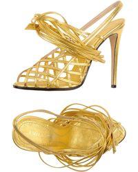 Emilio Pucci Highheeled Sandals - Lyst