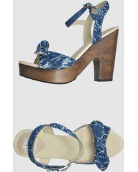 Get U - Platform Sandals - Lyst