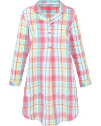 John Lewis - Checked Nightshirt - Lyst