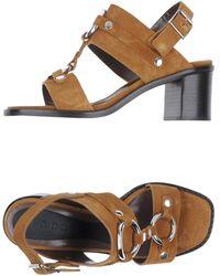 Marni High-Heeled Sandals - Lyst