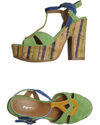 Nana' Platform Sandals - Lyst