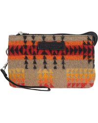 Pendleton - Printed Wool Pouch - Lyst