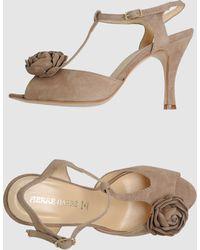 Pierre Darre' Highheeled Sandals - Lyst